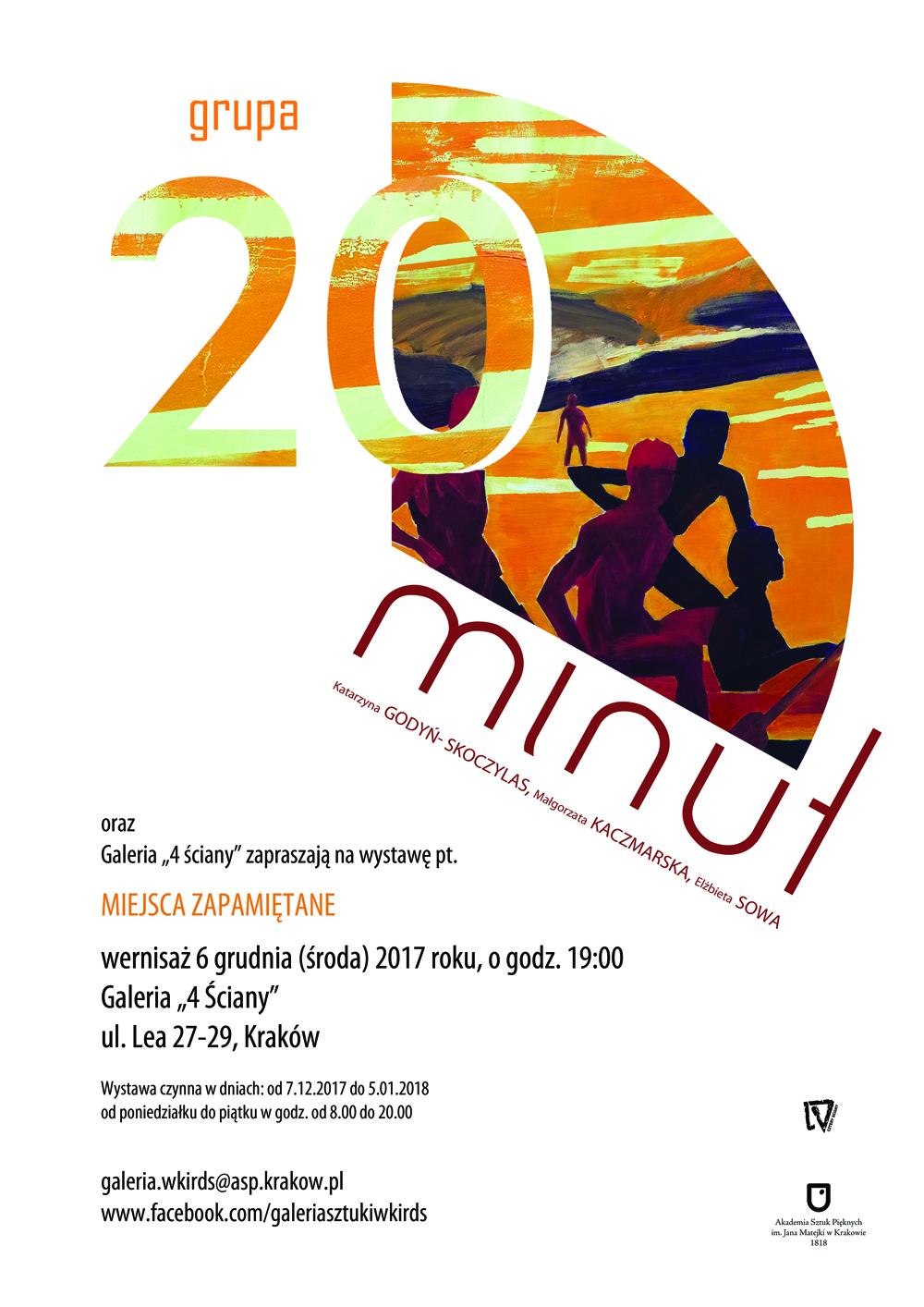 Wystawa malarstwa GRUPA 20 MINUT.