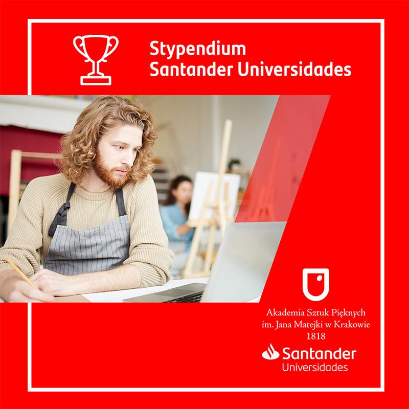 Stypendia Twórcze Santander Universidades dla studentów ASP