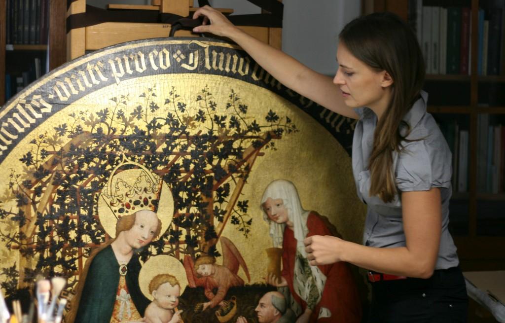 Ukończono badania jednego z najcenniejszych obrazów gotyckich w Polsce